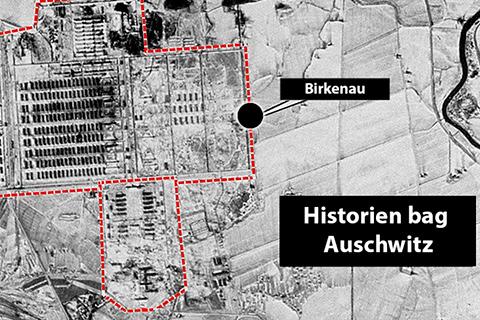Kort over Auschwitz